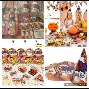Halloween Party Pack 158 pcs/ 1 set only